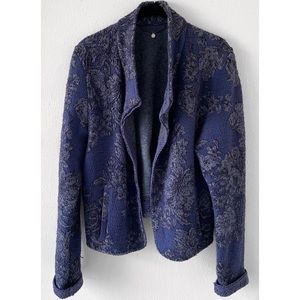 Anthropologie Jackets & Coats - ANTHROPOLOGIE KNITTED & KNOTTED NIGHTSHADE JACKET